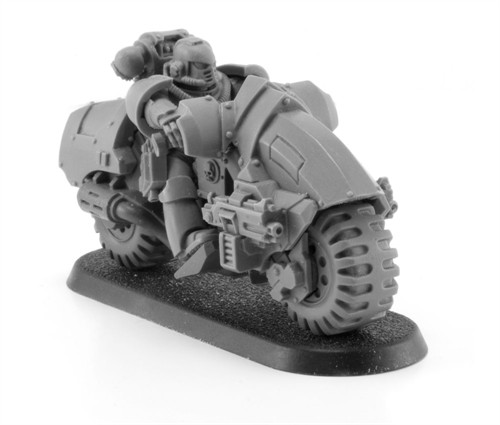 New Outrider Bikes from Forge World - Blue Table Painting
