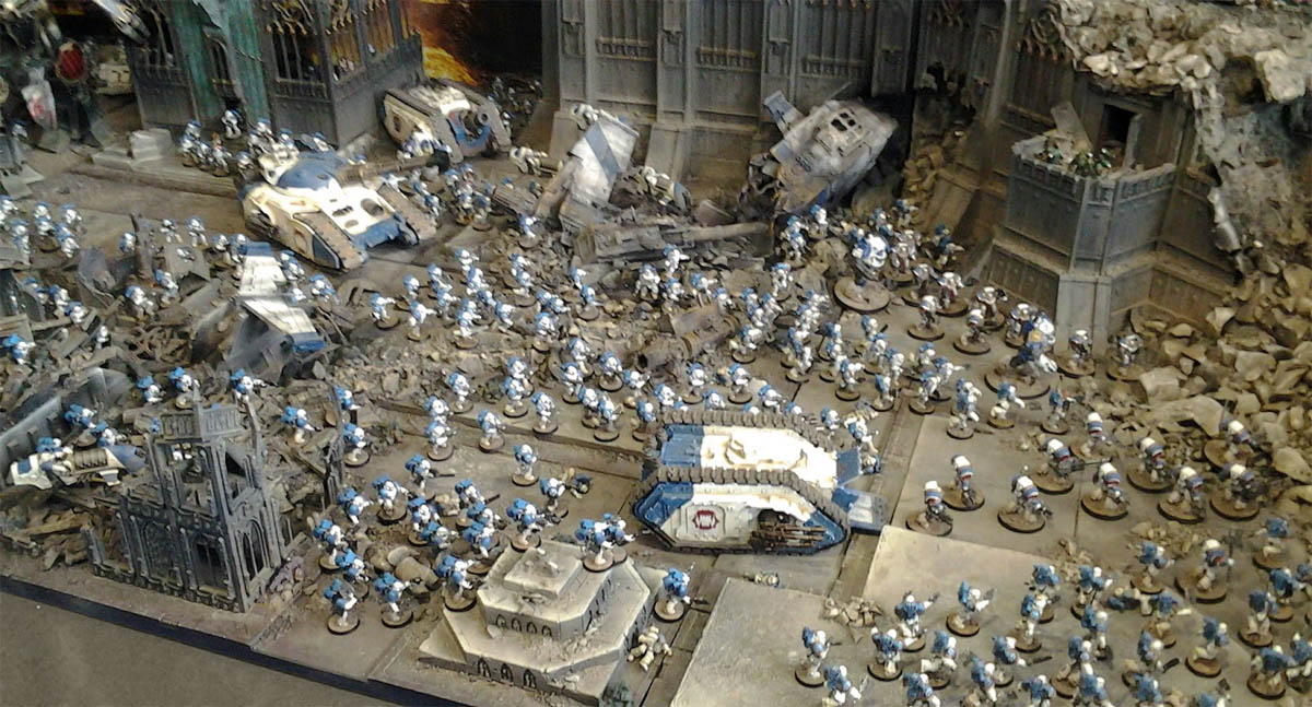 Best Base For Space Wolves Painting