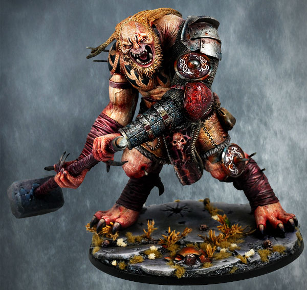 Miniature Minotaur Is Quite Awesome