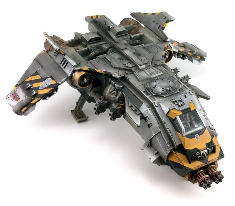 Forge World Fire Raptor - Blue Table Painting