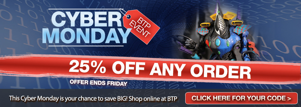 Cyber Monday at Blue Table!